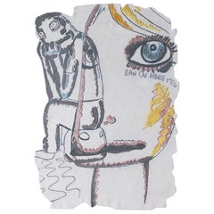 Limited Edition Carpet by Henzel Studio with Bjarne Melgaard in Wool and Silk