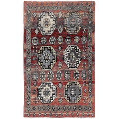 Antique Turkish Sleeping Rug 'Yatak or Tulu'