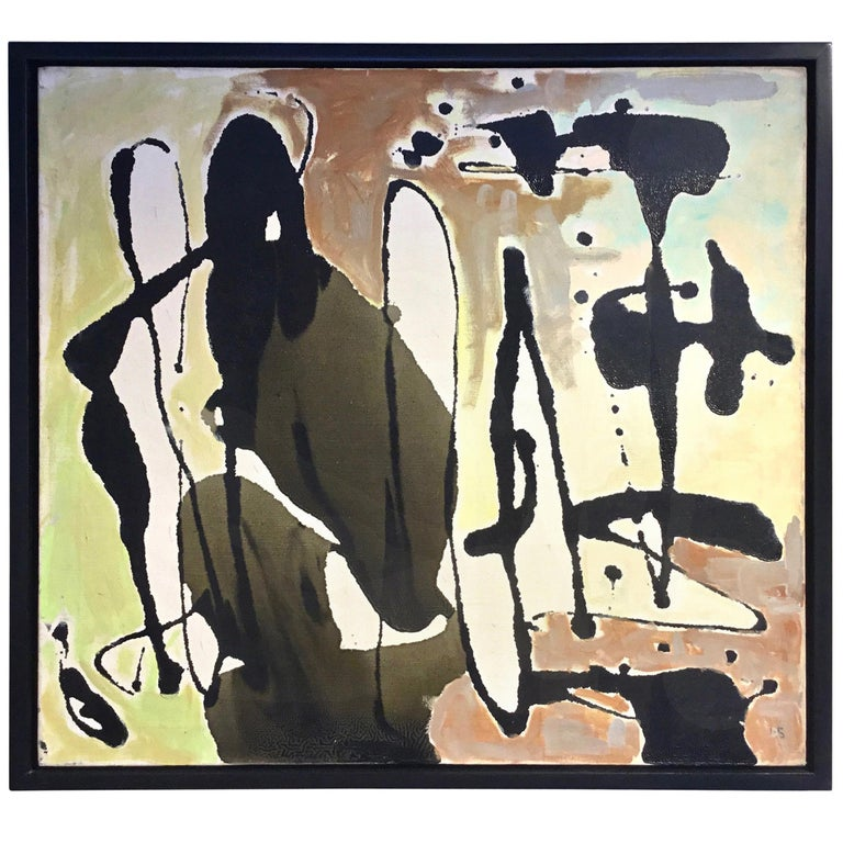 Modern Abstract Oil Painting by Contemporary Artist Dasa Sage