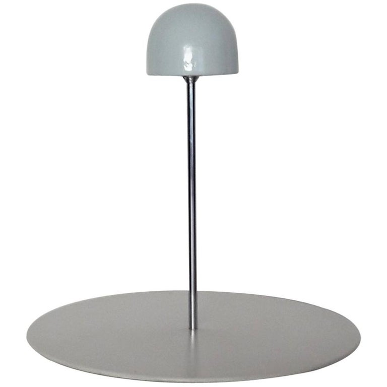 Magistretti 'Nemea' Modern White Porcelain Table Lamp for Artemide, 1979 For Sale