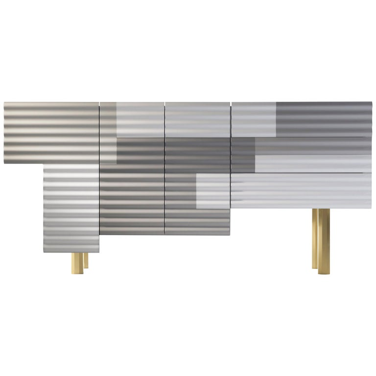 "Shanty Cabinet Model B ""winter"" by Doshi Levien"