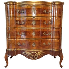 Courtly Rococo Commode from the 18th Century