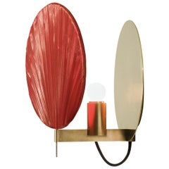 Guinea Wall Lamp in Red