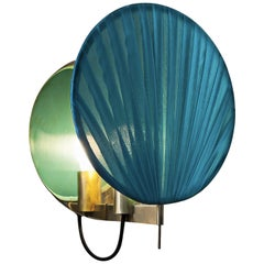 Guinea Wall Lamp in Blue