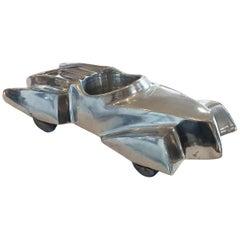 Art Deco Polished Aluminium Automobile Car Tray