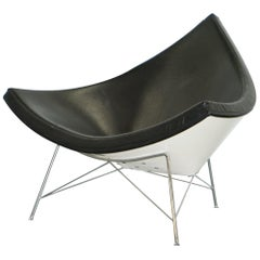 Vitra Eames Coconut Easy Chair in Premium Leather Art Modern Cool