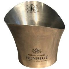 """Large Distinctive-Shaped """"Henriot"""" Champagne Cooler"""