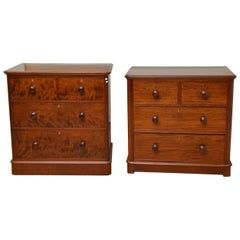 Pair of Matched Victorian Chest of Drawers