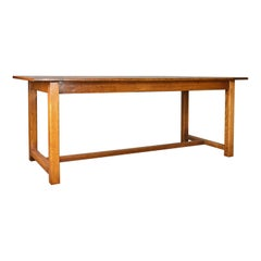 Refectory Dining Table, 20th Century in 17th Century Taste, Oak