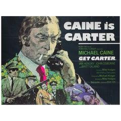 Get Carter Original UK Film Poster, 1971, Arnaldo Putzu