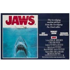 Jaws Original UK Film Poster, 1975, Roger Kastel