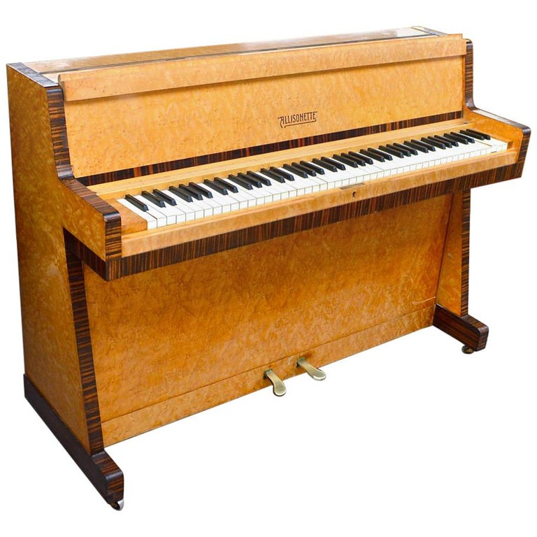 Allisonette Art Deco Studio Piano