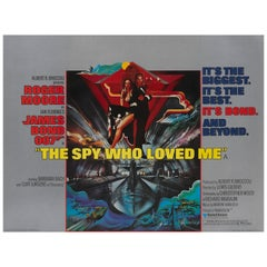 'The Spy Who Loved Me' Film Poster