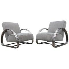 Ralph Lauren Hudson Street Lounge Chair, Pair