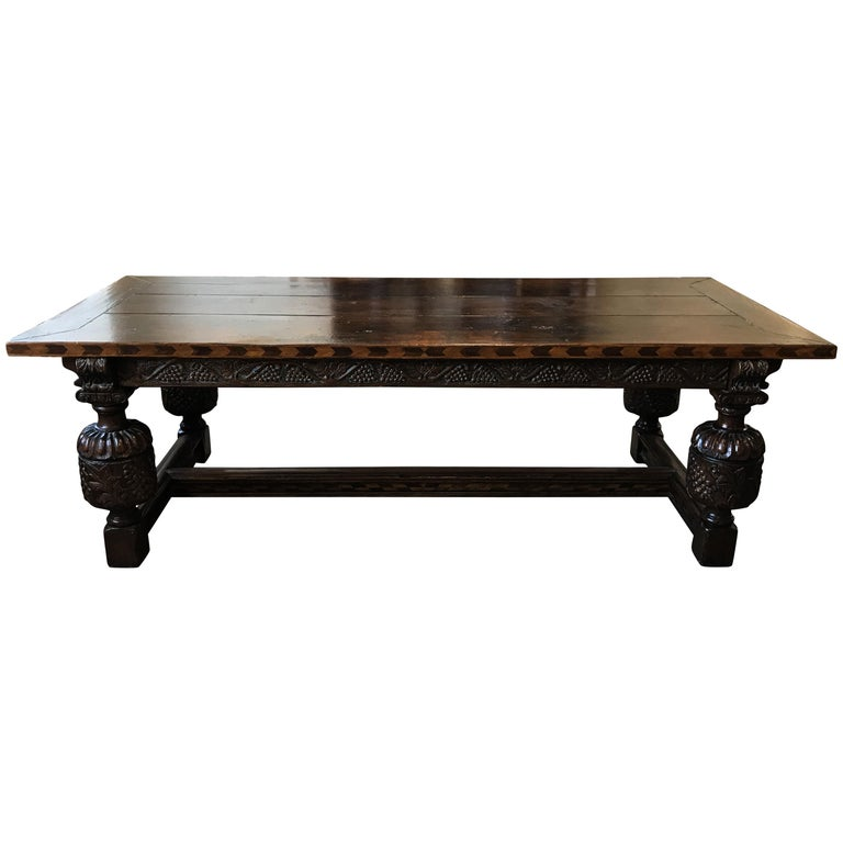 Henry VIII Refectory Table