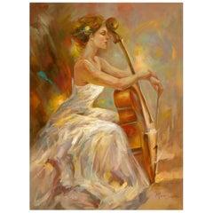 Harmony by Mia Orlova, Modern Art Painting After Anna Razumovskaya