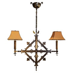 Antique Chandelier, Gothic Style