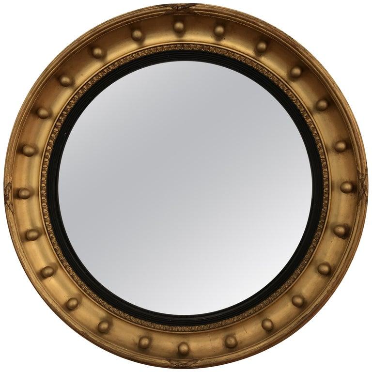 Large Regency Convex Mirror