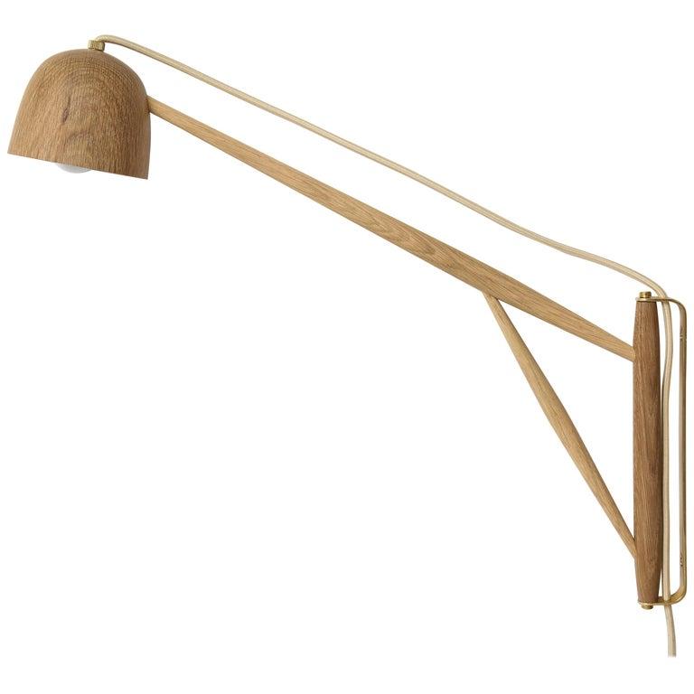 Summer Studio Crane LED Swing Wall Lamp