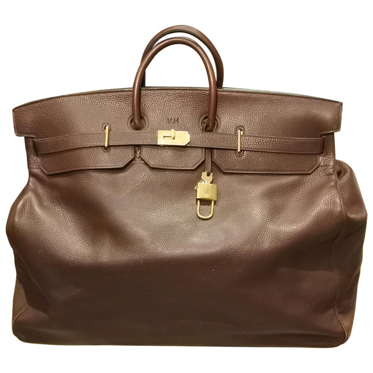 Hermès HAC Travel Bag For Sale