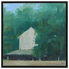 Mary Jo O'gara Old Barn Painting