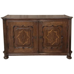 18th Century French Louis XIV Inlaid Buffet