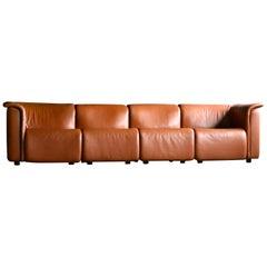 Large Modular Sofa by Wittmann Moebelwerkstaetten