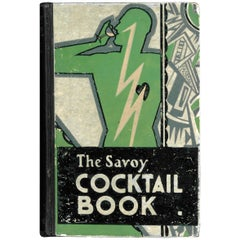 'The Savoy Cocktail Book', '1930' Book
