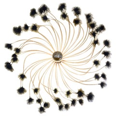 French Feathers Chandelier