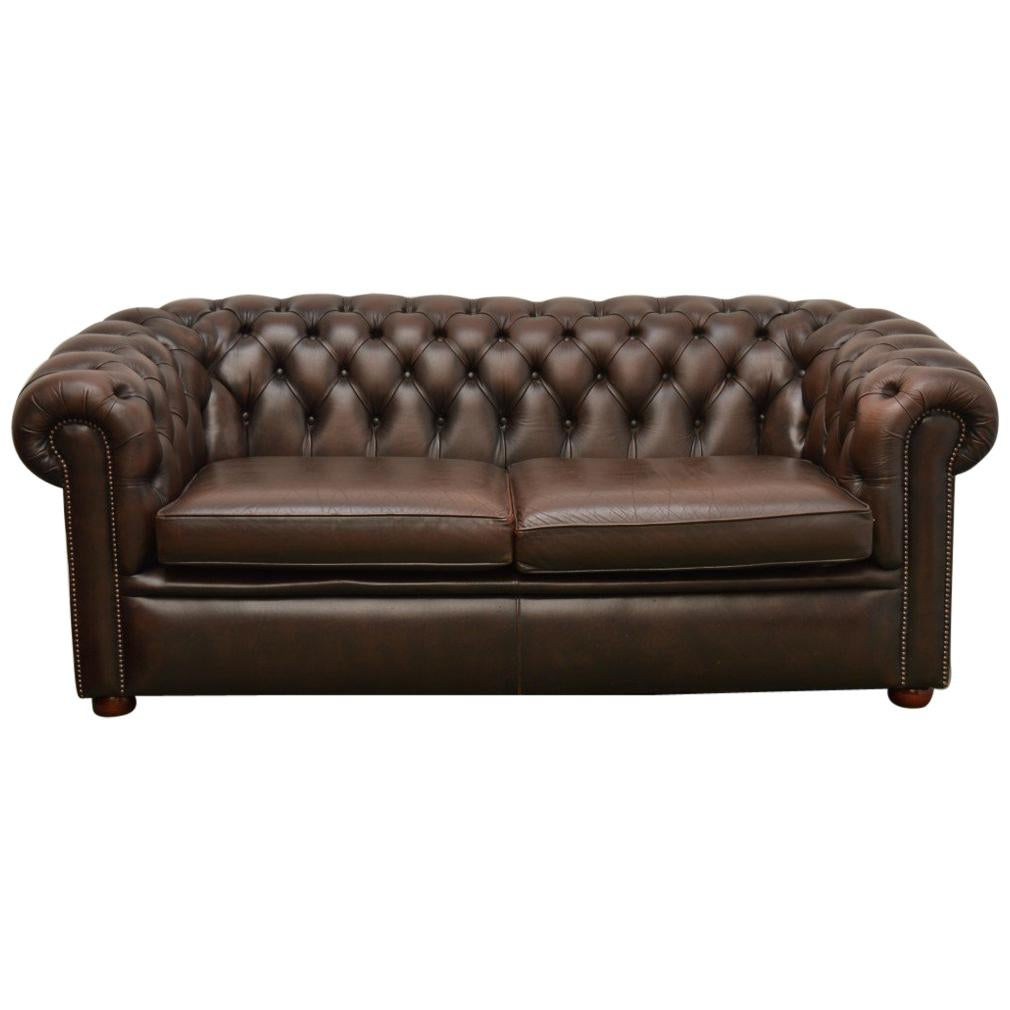 English Chesterfield Sofa Couch