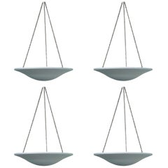 Jean-Michel Frank, a Set of Four Pendant Lights