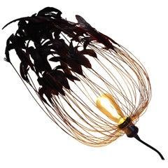 Black Feathers Pendant
