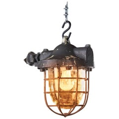 1950s Mining Explosion-Proof Lamp Raw