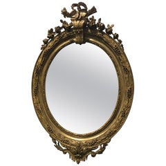 Louis XVI Style Mirror, France, 19th Century