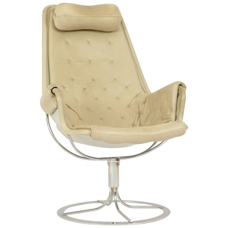 "Midcentury ""Jetson"" Lounge Chair by Bruno Mathsson for Dux"