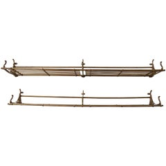 Pair of Late 19th Century Train Car Luggage Rack