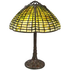 "Tiffany Studios ""Spider"" Table Lamp"