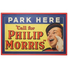 1930s Philip Morris Cigarette Tobacco Advertising