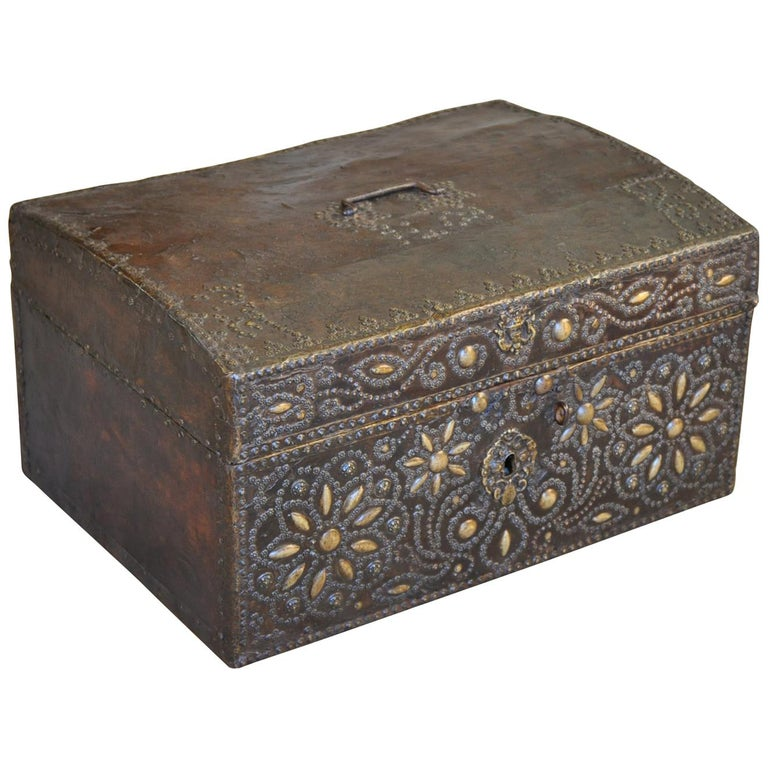 French 18th Century Marriage Coffre, Trunk