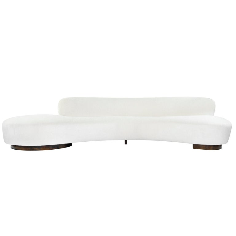 Extra-Long Serpentine Sofa by Vladimir Kagan