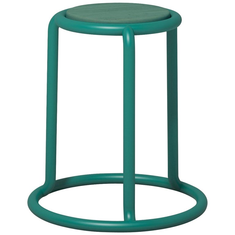 Champ Stool in Opal Green by Visibility