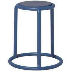 Champ Stool in Blue by Visibility