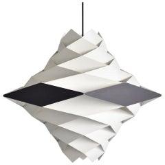 Large Symfoni Pendant Light by Preben Dahl Dal for Hans Folsgaard Denmark