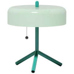 F/K/A Table Lamp in Mint, Opal Green and Asphalt Grey by Jonah Takagi