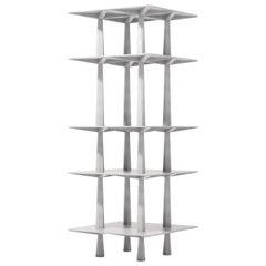 Centina Shelf in Aluminum by Oeuffice
