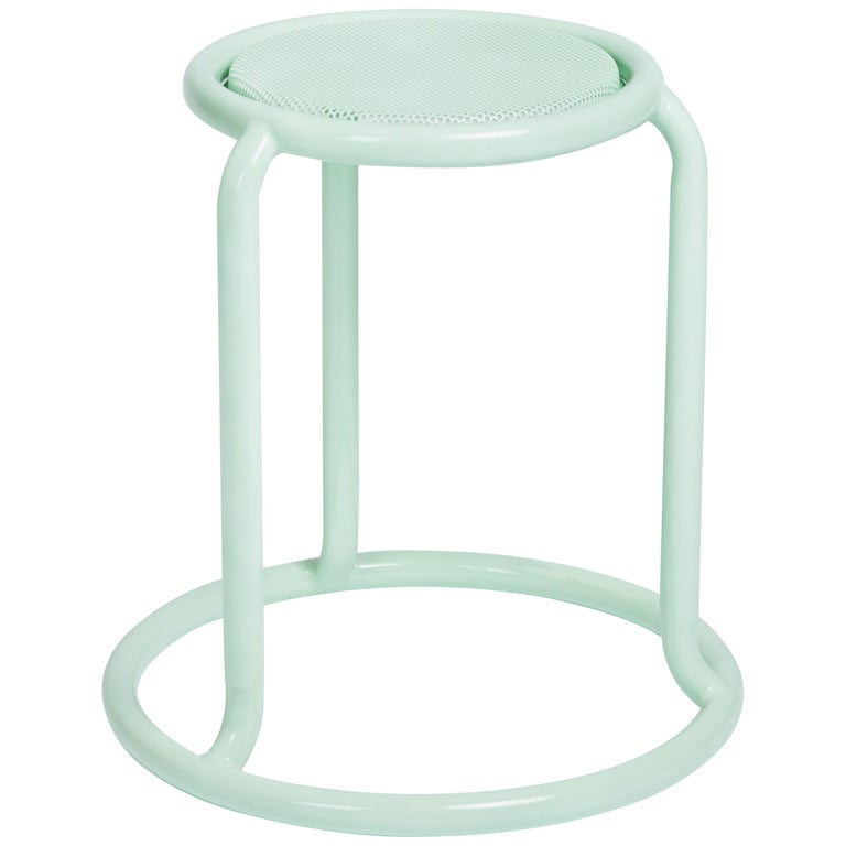Champ Outdoor Stool in Pastel Green by Visibility
