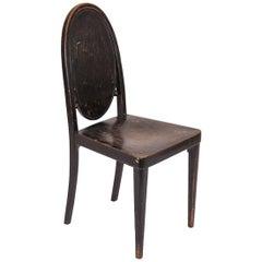 Otto Prutscher & Gebrueder Thonet Vienna Jugendstil Chair, Early 20th Century
