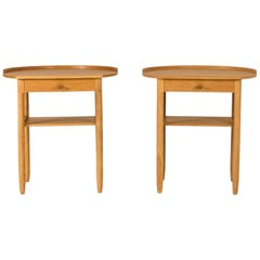 Pair of Bedside Tables by Sven Engström and Gunnar Myrstrand