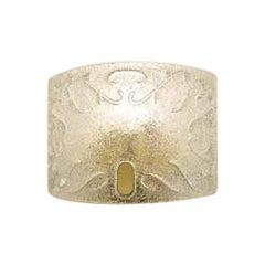Vistosi Dogi Sconce in Crystal with Graniglia Engraving by Studio Tecnico, Small