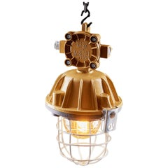 1970s Omp-300 Explosion-Proof Lamp